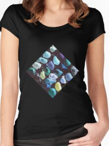 Chocolate palette Women's Fitted Scoop T-Shirt