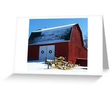 Out on the Farm Greeting Card