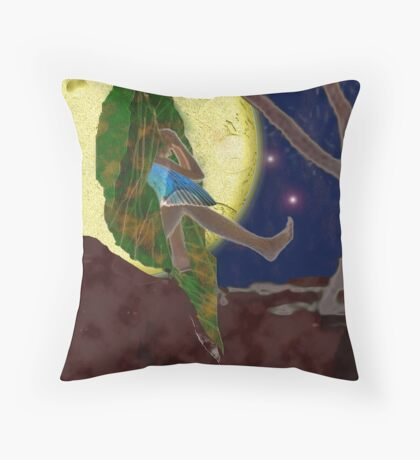 Revolutio Renovatio I:  Fly or Fall? Throw Pillow