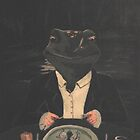 The Frog Painting by Mpenrose