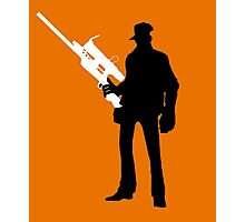 TF2 - Team Fortress 2 Sniper Shirt/Poster  Photographic Print