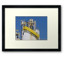 Stack Stairs Framed Print