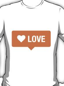 Love tag T-Shirt