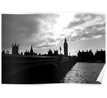 London, skyline 2 Poster