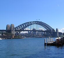Sydney Harbour Bridge by Sue Wickes