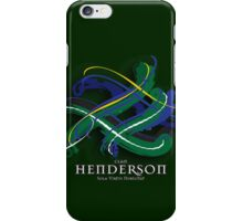 Henderson Tartan Twist iPhone Case/Skin
