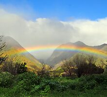 Rainbow in Lahaina,  Maui, Hi by fastv10