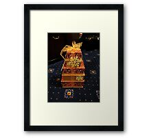Tower of Treats Framed Print