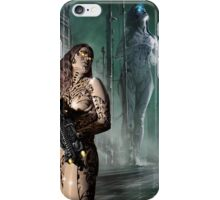 Cyberpunk Painting 041 iPhone Case/Skin