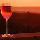 Rose Wine by Karin  Hildebrand Lau