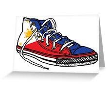 Pinoy Shoe Greeting Card