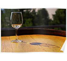 White Wine Poster