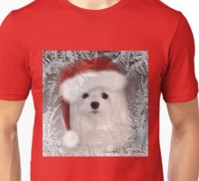 Snowdrop the Maltese - A Frosty Morning ! Unisex T-Shirt