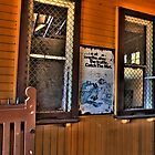 Yarra Glen Railway Station by Colin  Ewington