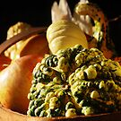 Autumn Gourd by Karin  Hildebrand Lau