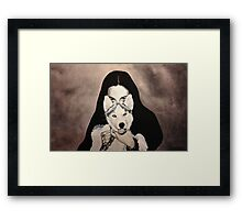 Kelly & Magic Cutrone Framed Print
