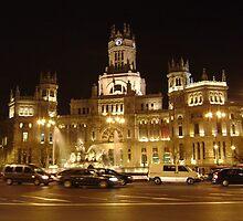 Palacio de las Comunicaciones by Nicole Curet