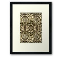 Indian style Framed Print