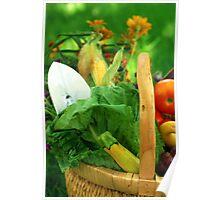 Garden Basket Poster
