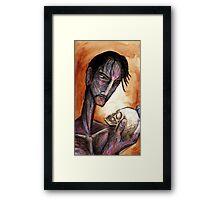 Mister Gangley and his Son Framed Print