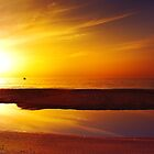 The Sunset's Mirror by Tony Elieh