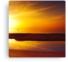 The Sunset's Mirror Canvas Print