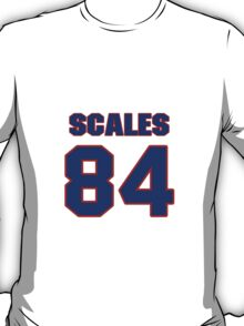 National football player Dwight Scales jersey 84 T-Shirt