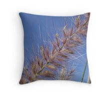 Blue Grass 2 Throw Pillow