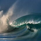 Winter Waves At Waimea Bay 10 by Alex Preiss