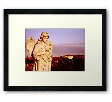 Coogee Angel Framed Print