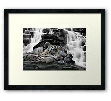 Echo Falls... Framed Print