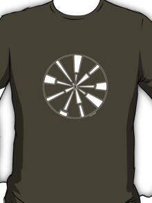 Mandala 6 Simply White T-Shirt