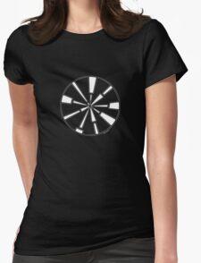Mandala 6 Simply White Womens Fitted T-Shirt
