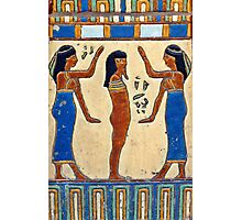 Nephthys and King Tut Photographic Print