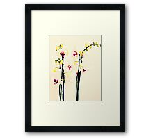 Queen of Flowers Framed Print