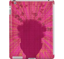 Surreal Head with Butterflies iPad Case/Skin