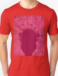 Surreal Head with Butterflies Unisex T-Shirt