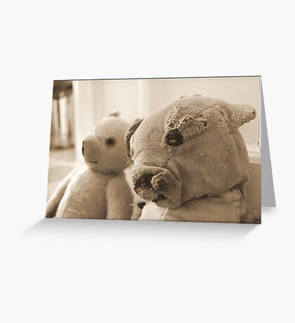 Ted, Bedraggled Greeting Card