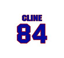 National football player Tony Cline jersey 84 Photographic Print