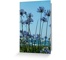 Pacific Flowers Greeting Card