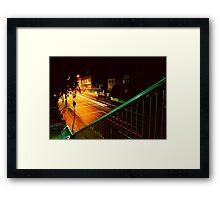 street Framed Print