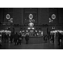 last train Photographic Print