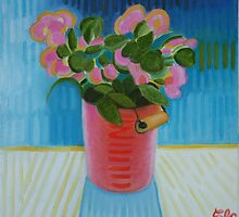 Pink Flowers by Elohim Sanchez