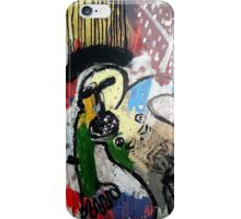 UN SANTO Y UN PÁJARO ( a saint and a bird) iPhone Case/Skin