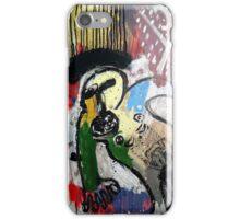 UN SANTO Y UN PÁJARO ( a saint and a bird) iPhone Case/Skin