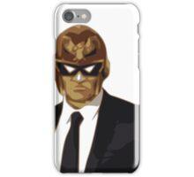 Captain Falcon in Formal Attire iPhone Case/Skin