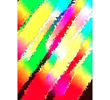 rain bow backdrop Photographic Print