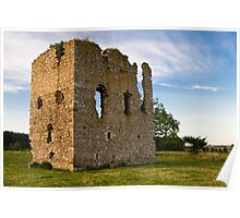 Hallforest Castle in Kintore, Aberdeenshire, Scotland Poster