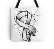 Awareness Ribbon Tote Bag