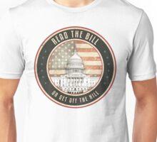 Read The Bill Unisex T-Shirt